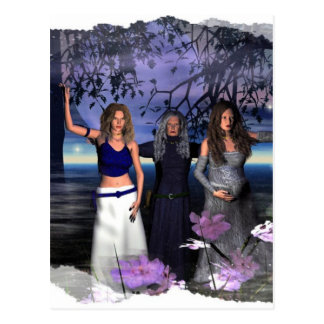The Maiden, Mother and Crone Postcard