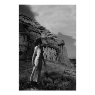 The maidian of Red Rock Canyon Poster