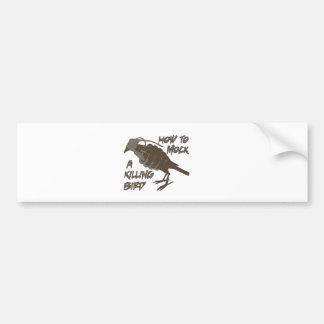 The Main Bird Bumper Sticker