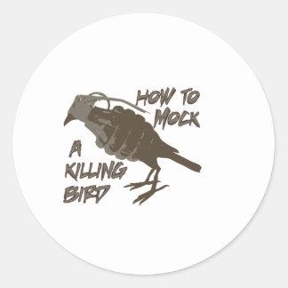 The Main Bird Classic Round Sticker