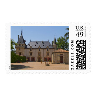 The main building of the estate  Chateau de Postage