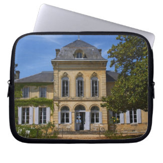 The main chateau building, renovated by laptop sleeve