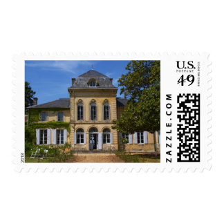 The main chateau building, renovated by stamp