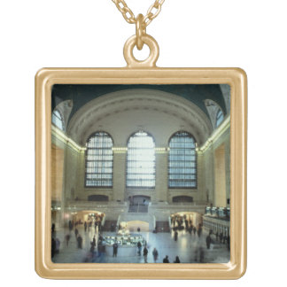 The Main Concourse (photo) Personalized Necklace