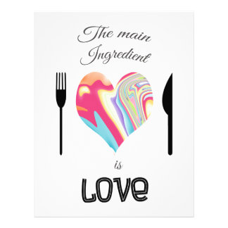 The Main Ingredient is Love Letterhead