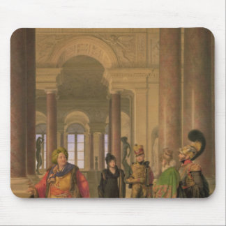 The Main Staircase of the Louvre, 1817 Mousepads
