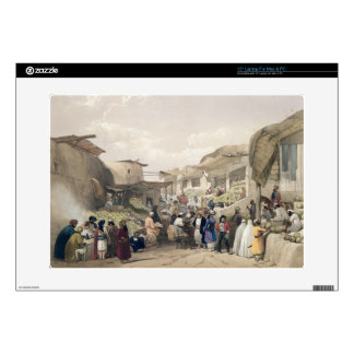 The Main Street in the Bazaar at Caubul, in the Fr Laptop Skins