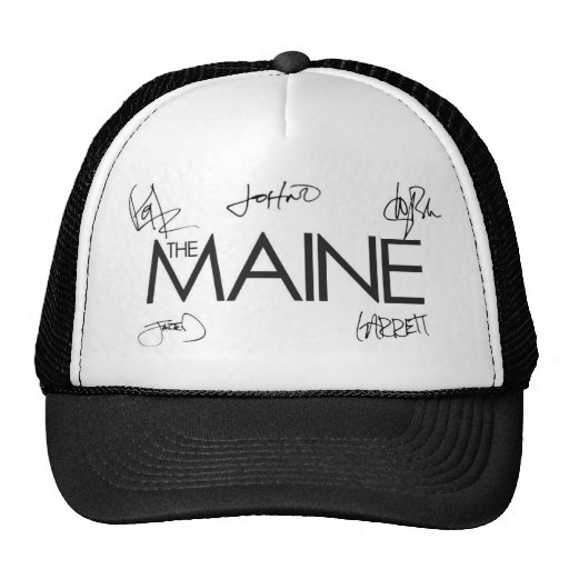 The Maine Autographed Hat