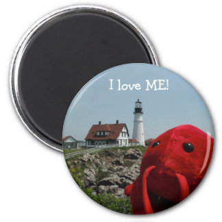 The Maine Line 2 Inch Round Magnet