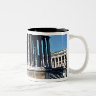 The Maison Carree Two-Tone Coffee Mug