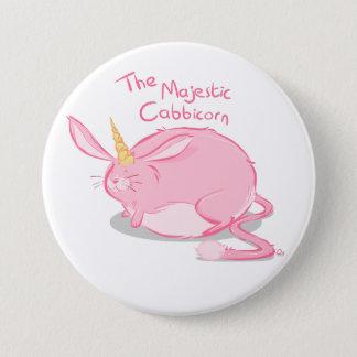 The Majestic Cabbicorn - Badge Pinback Button
