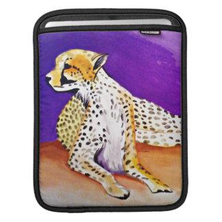 The Majestic Cheetah (Kimberly Turnbull Art) iPad Sleeve