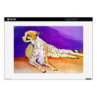 "The Majestic Cheetah Kimberly Turnbull Art 15"" Laptop Skins"