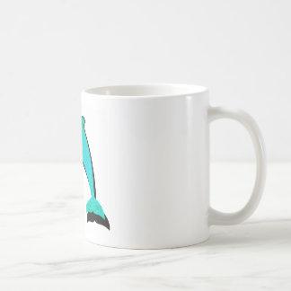 THE MAJESTIC DOLPHIN CLASSIC WHITE COFFEE MUG