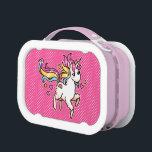 "The Majestic Llamacorn Lunch Box<br><div class=""desc"">The rarest of creatures,  the Llamacorn.</div>"