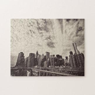 The Majestic New York City Skyline Jigsaw Puzzle
