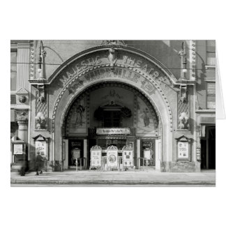 The Majestic Theatre, 1910 Cards
