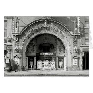 The Majestic Theatre, 1910 Card