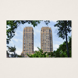 The Majestic Towers- Central Park West Business Card