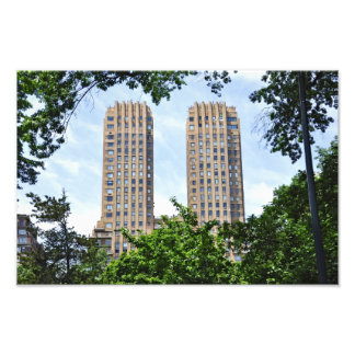 The Majestic Towers- Central Park West Photo Print
