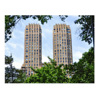 The Majestic Towers- Central Park West Postcards