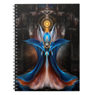 The Majesty Of Arsencia Spiral Notebook