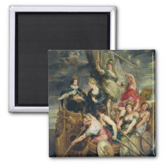 The Majority of Louis XIII 2 Inch Square Magnet