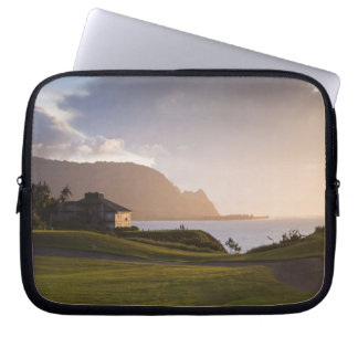 The Makai golf course in Princeville 3 Computer Sleeve
