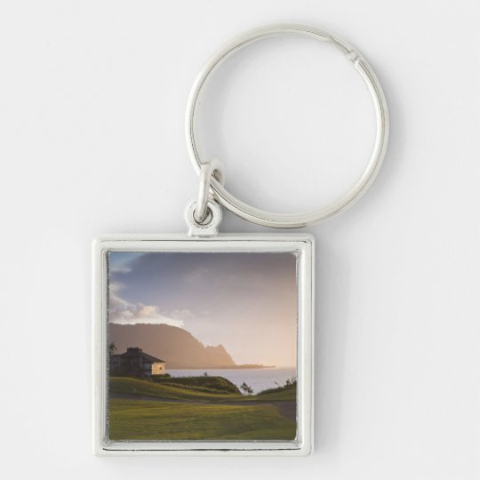 The Makai golf course in Princeville 3 Keychain