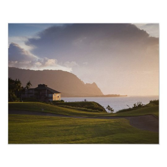 The Makai golf course in Princeville 3 Poster