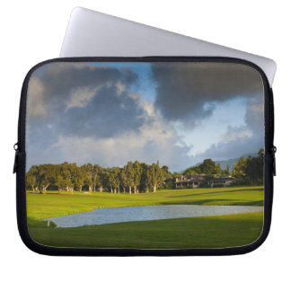 The Makai golf course in Princeville 4 Laptop Sleeve
