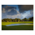 The Makai golf course in Princeville 4 Print