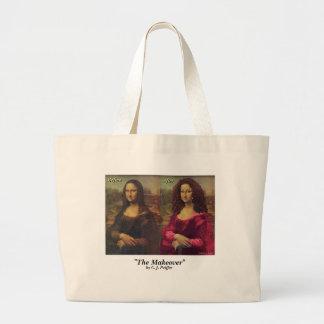 'The Makeover' Jumbo Tote Bag