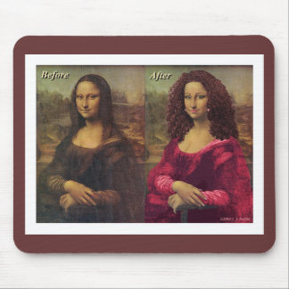 'The Makeover' Mouse Pad