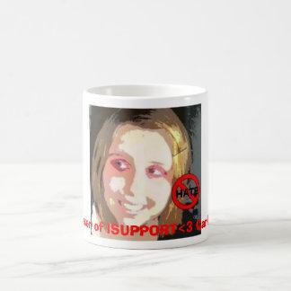The maker of ISUPPORT<3 Carlie Lynn. Classic White Coffee Mug