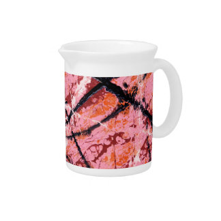 THE MAKER'S MARK (an abstract art design) ~ Beverage Pitcher