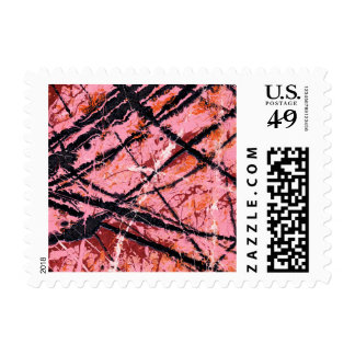 THE MAKER'S MARK (an abstract art design) ~.jpg Postage Stamp