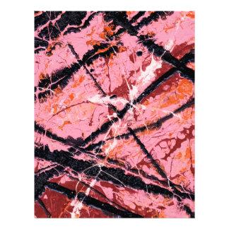 THE MAKER'S MARK (an abstract art design) ~ Letterhead
