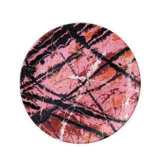 THE MAKER'S MARK (an abstract art design) ~ Porcelain Plate