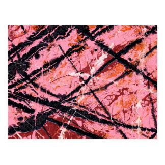 THE MAKER'S MARK (an abstract art design) ~ Postcard