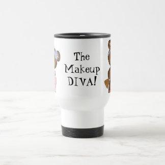 The Makeup Diva travel mug