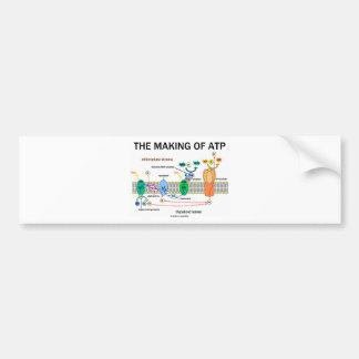 The Making Of ATP (Photosynthetic Attitude) Car Bumper Sticker