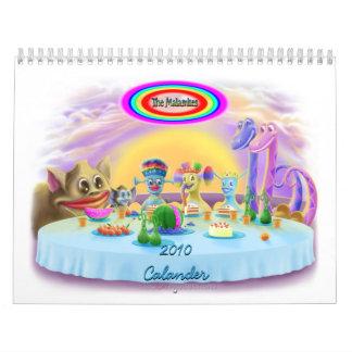 The Malamites 2010 Calander Calendar