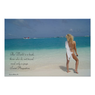 The Maldives - St. Augustine Poster