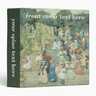 The Mall, Central Park by Maurice Prendergast Binder