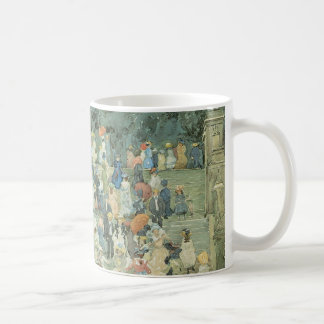 The Mall, Central Park by Maurice Prendergast Coffee Mug