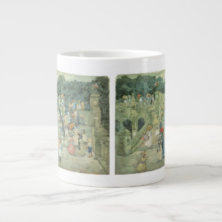 The Mall, Central Park by Maurice Prendergast Giant Coffee Mug