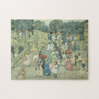 The Mall, Central Park by Maurice Prendergast Jigsaw Puzzle