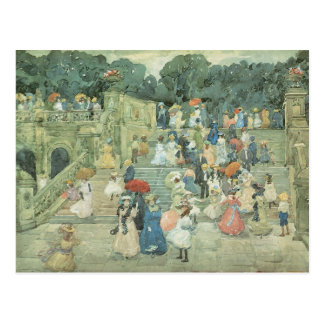 The Mall, Central Park by Maurice Prendergast Postcard