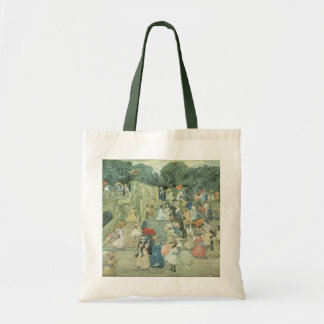 The Mall, Central Park by Maurice Prendergast Tote Bag